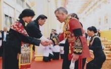 ประมวลภาพพระราชทาน พิธีบำเพ็ญพระราชกุศลออกพระเมรุมาศ ถวายพระเพลิงพระบรมศพฯ