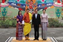 กษัตริย์จิกมีพระราชทานวโรกาสให้นายกฯเข้าเฝ้าในโอกาสเยือนภูฏาน