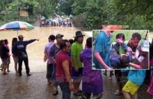 หนุ่มฮีโร่!! ช่วยเด็กพลัดตกน้ำรอดชีวิต-ตัวเองหมดแรง ร่างจมดิ่งหายไปกับสายน้ำ