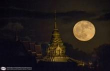ชมภาพสวยๆซูเปอร์มูน คืน'จันทร์'ใกล้โลก