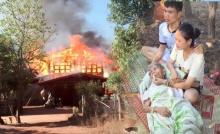ไฟไหม้บ้าน เผาวอด เงิน ทองสินสอด หายในพริบตา ยายเฒ่า 104 ปี รอดหวุดหวิด !
