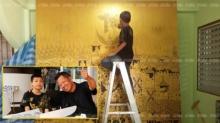 'อ.เฉลิมชัย'ภูมิใจลูกศิษย์ตัวน้อย วาดภาพใบใหญ่ถวายในหลวง อยากให้เด็กไทยเอาเป็นแบบอย่าง