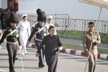 เป็นบุญตาที่ได้เห็น! สมเด็จพระเทพฯ เสด็จซ้อมริ้วขบวนอิสริยยศฯ พระบรมศพ
