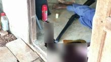 พ่อเฒ่าเครียดโรครุมเร้า! คว้าปืนแก๊ประเบิดหัวตัวเองดับอนาถคาบ้านพักกลางสวน