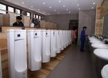 หัวลำโพง ปรับโฉมห้องน้ำใหม่ไฉไลสะอาดตา