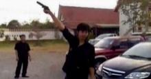 ดราม่าเกิด!! หลังมีคลิปวัยรุ่นพกปืน...ยิงปืนขึ้นฟ้ากันกระหน่ำ
