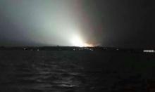ชลบุรีฮือฮาแสงไฟประหลาด...ที่แท้หม้อแปลงไฟฟ้าระเบิด(มีคลิป)