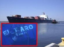 ภาพเรือเอล ฟาโร จมสามเหลี่ยมเบอร์มิวดาดับ 33 ชีวิต