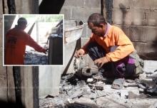 เคราะห์กระหน่ำ! น่าสงสารหนุ่มพิการตาบอด-เมียแยกทางบ้านไฟไหม้