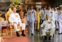 ย้อนอดีต!! คนไทยหัวใจเศร้ามองภาพ ร.๙ เสด็จพระราชดำเนินพระราชพิธีฉัตรมงคล ครั้งสุดท้าย