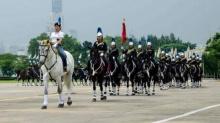 """สง่างาม """"พระองค์หญิงสิริวัณณวรี"""" ฝึกซ้อมทรงม้าในขบวนพระบรมราชอิสริยยศ"""