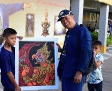 น้องต้นกล้าวัย11ปีสุดยอดฝีมือวาดรูป เดินทางพบอ.เฉลิมชัยผู้สร้างแรงบันดาลใจ