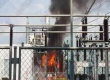 ไฟไหม้หม้อแปลงโรงไฟฟ้าศรีราชากว่า3ชม.