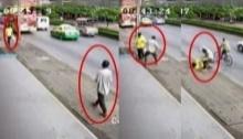 เตือนภัย!!! ระวังเดินอยู่ดีๆ อาจโดนต่อยไม่รู้ตัว!?? (มีคลิป)