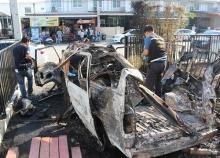 ระทึก!! รถตู้มือสองติดLPG ระเบิดเสียหายกลางหมู่บ้าน