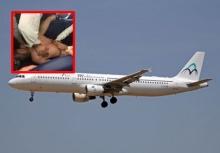 ชุลมุนวุ่นวาย!!หนุ่มอาละวาดฉี่ใส่ผดส.คนอื่นๆบนเครื่องบิน!!