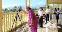 สมเด็จพระเทพฯ เสด็จฯทอดพระเนตรสุริยุปราคา ที่อินโดนีเซีย