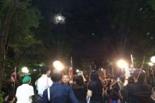 ดวงจันทร์เหนือศิริราชสว่างไสว ปชช.หยิบกล้องถ่ายเป็นที่ระลึก