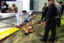 2นักโทษรุมยำตร.สลบคาศาล จับแก้ผ้าก่อนหนีแต่ไม่รอด