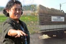 พระเทพพระราชทานเสบียง เพื่อช่วยเหลือเกษตรกรผู้ประสบอุทกภัยภาคใต้
