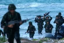 ซ้อมใหญ่ ยกพลขึ้นบก ฝึกกองทัพเรือ ประจำปี 2560