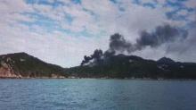 ด่วน! ไฟไหม้กองขยะกว่า 4 หมื่นตัน บนเกาะเต่า จนท.เร่งระดมรถฉีดน้ำสกัด