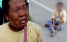 อยากตาย!! หนุ่มวัย 33 ปี กระโดดออกถนนหวังให้รถชน เครียดสอบใบขับขี่ไม่ผ่าน!!? (มีคลิป)