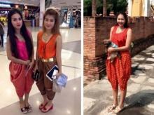 พิษณุโลกชุดไทยมาแรงวัยรุ่นแต่งเที่ยว