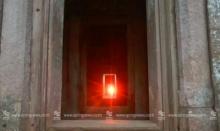 แห่ชม! ดวงอาทิตย์ขึ้นตรง สาดส่อง 15 ช่องประตูพนมรุ้ง