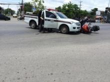 ฝ่าไฟแดงเป็นเหตุ Bigbike โดนรถตำรวจชนด้วยเหตุผลอะไร ไปดูกัน