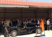 DSIไปวัดไผ่ล้อมสอบรถจากัวร์หลวงพี่น้ำฝน