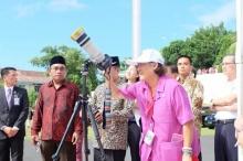 สมเด็จพระเทพฯ ทอดพระเนตร สุริยุปราคาเต็มดวง ที่ อินโดนีเซีย (ชมภาพ)