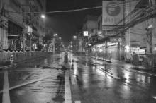 ปิดจราจร-ล้างถนน รอบศิริราช เฝ้ารอการเคลื่อนพระบรมศพ