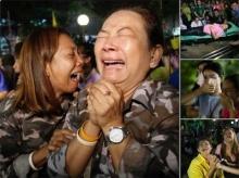 สำนักข่าวต่างประเทศ ประมวลภาพพสกนิการชาวไทยร่ำไห้ ใจสลายที่สุดในชีวิต