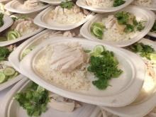 เมนูมื้อเที่ยงวันนี้ สมเด็จพระบรมโอรสาธิราชฯ พระราชทานข้าวมันไก่