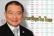 เจ้าสัวเจริญแห่งค่ายน้ำเมาดัง รวยที่สุดในไทย และ ติดที่ 69 ของโลก!!