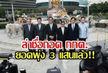 คนไทยไม่ทน! ล่าชื่อถอดกกต. ยอดพุ่ง 3.6 แสนคน เผยใช้ 2 หมื่นชื่อ ยื่นถอน กกต.ได้