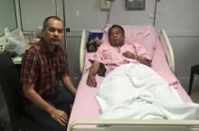ณัฐวุฒิ เยี่ยม วีระกานต์ หลังเข้าโรงพยาบาล เนื่องจากเลือดออกที่ผนังลำไส้
