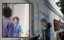 เค้าเป็นใครน้อ!!! เผยภาพสาวนิรนามบุกเดี่ยว ฉีกป้ายให้กำลังใจ14นักศึกษา
