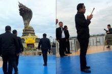 บิ๊กตู่สักการะพญาศรีสัตตนาคราชขอพรให้คนไทยมีความสุข