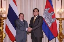 นัมฮง เยี่ยมคาราวะ บิ๊กตู่ เชื่อมสัมพันธ์ไทยกัมพูชา