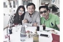 ′อุ๊งอิ๊ง′ โพสต์ ′Birthday Lunch′ กับทักษิณ-พี่ชาย
