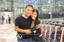 วัฒนารุดรับน้องเฟ-ลูกสาวกลับจากฮ่องกง