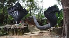 พบถ้ำวังพญา ถูกหินถล่มทับปากถ้ำมานานหลายสิบปี