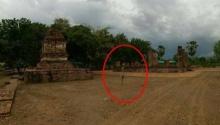 ขนลุกพรึ่บ!!ภาพถ่ายคล้ายติดวิญญาณทหารโบราณ เมืองเก่าเวสาลี