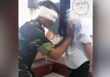 อื้อฉาว!สุดๆในเวียดฯ  อ.ทหาร ลูบคลำ นักศึกษา สาว กลางชั้นเรียน