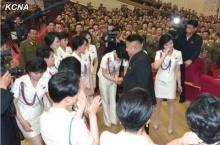 5 สาวโมรันบง แบนด์ ออกงานสยบข่าวโดนคิมจองอึนลงดาบ