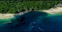 หลุมยักษ์โผล่ ชายหาดควีนส์แลนด์ นักท่องเที่ยวหนีจ้าละหวั่น!!(มีคลิป)