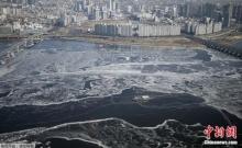 กรุงโซลหนาวที่สุดในรอบ 15 ปี จนแม่น้ำฮันกลายเป็นน้ำแข็ง