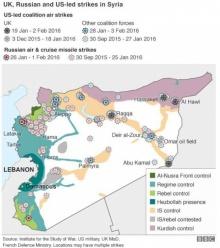 ฝรั่งเศสเรียกร้องให้รัสเซียหยุดทิ้งระเบิดลงสู่เป้าหมายที่เป็นพลเรือนในซีเรีย